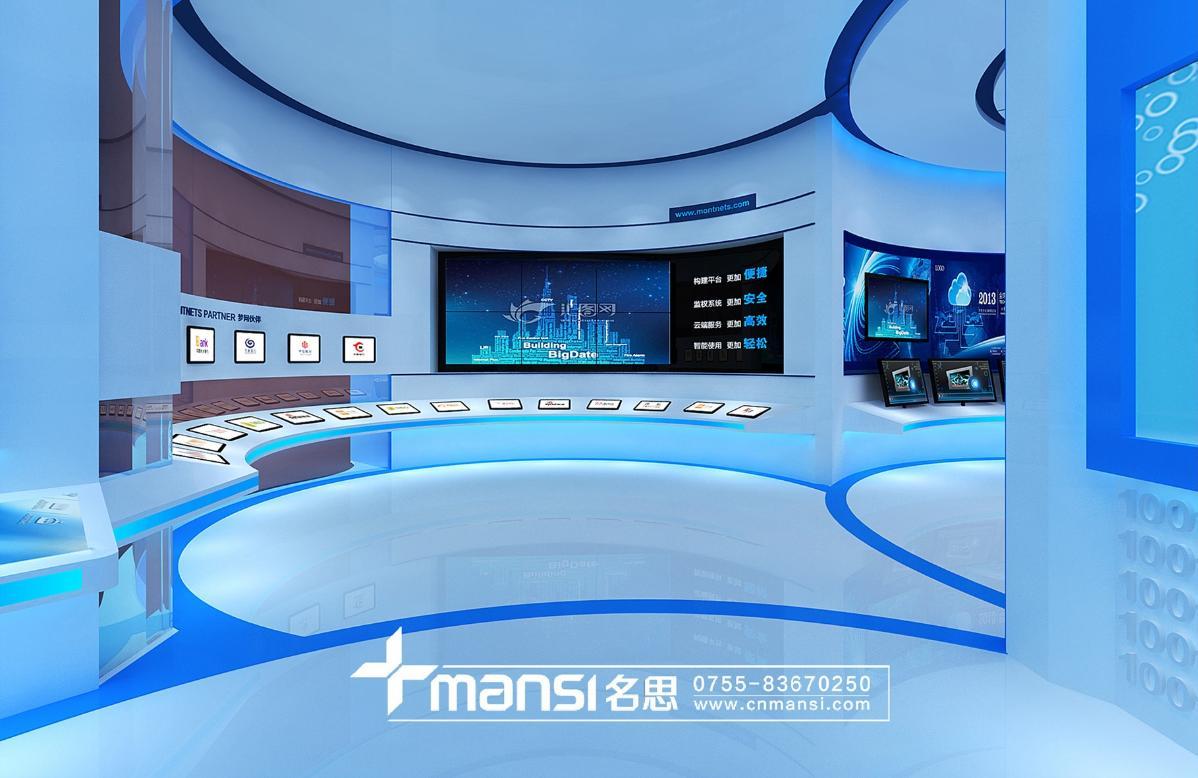 梦网科技展厅-4