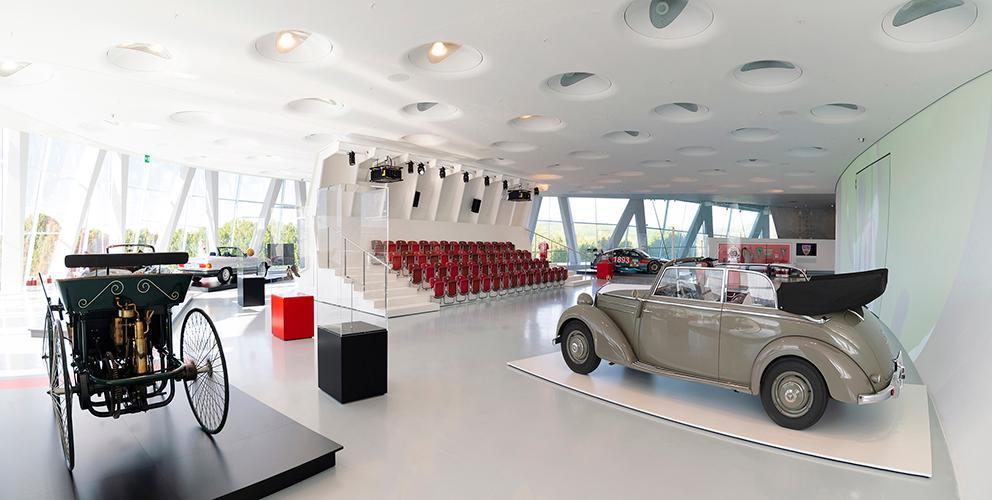 奔驰汽车博物馆与品牌体验馆设计1
