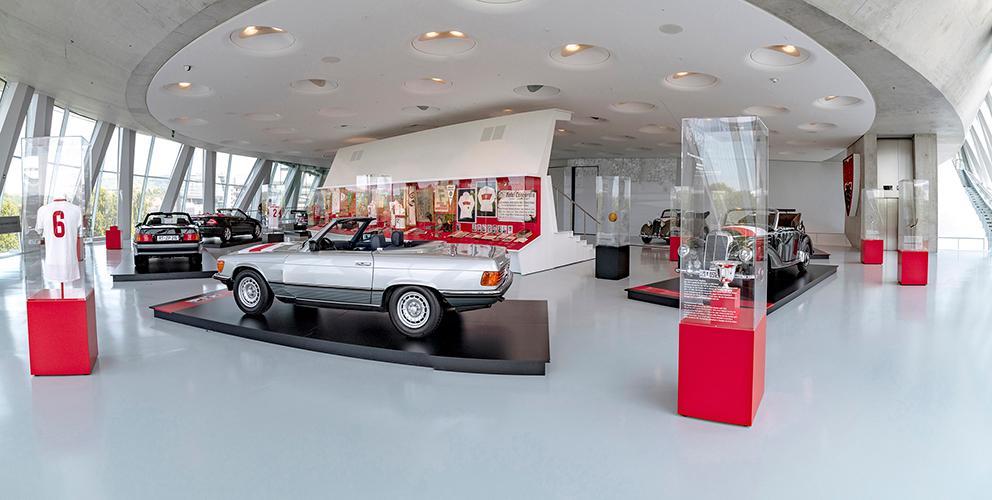 奔驰汽车博物馆与品牌体验馆设计2