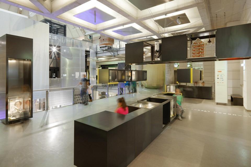 维也纳智能技术博物馆展厅设计1