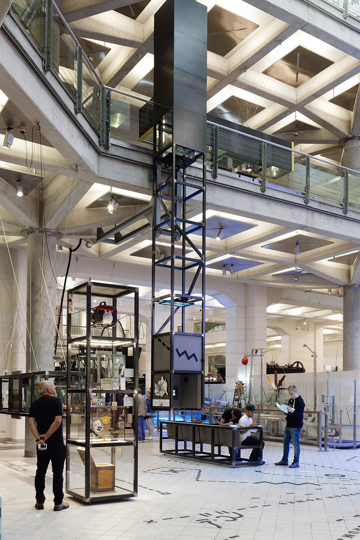 维也纳智能技术博物馆展厅设计2