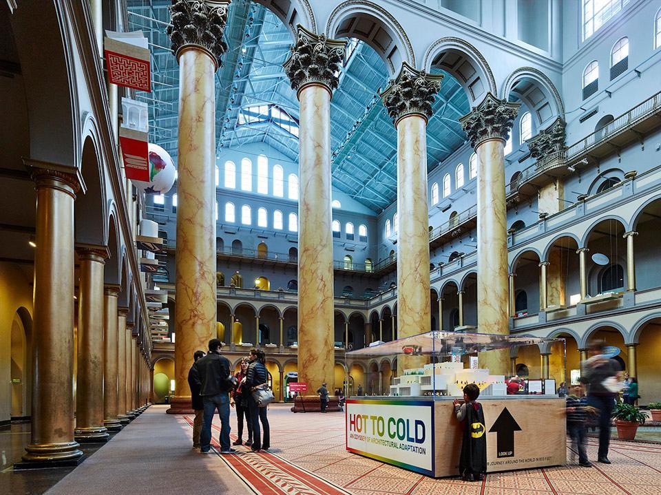 北京博物馆展厅概念规划及建筑设计2