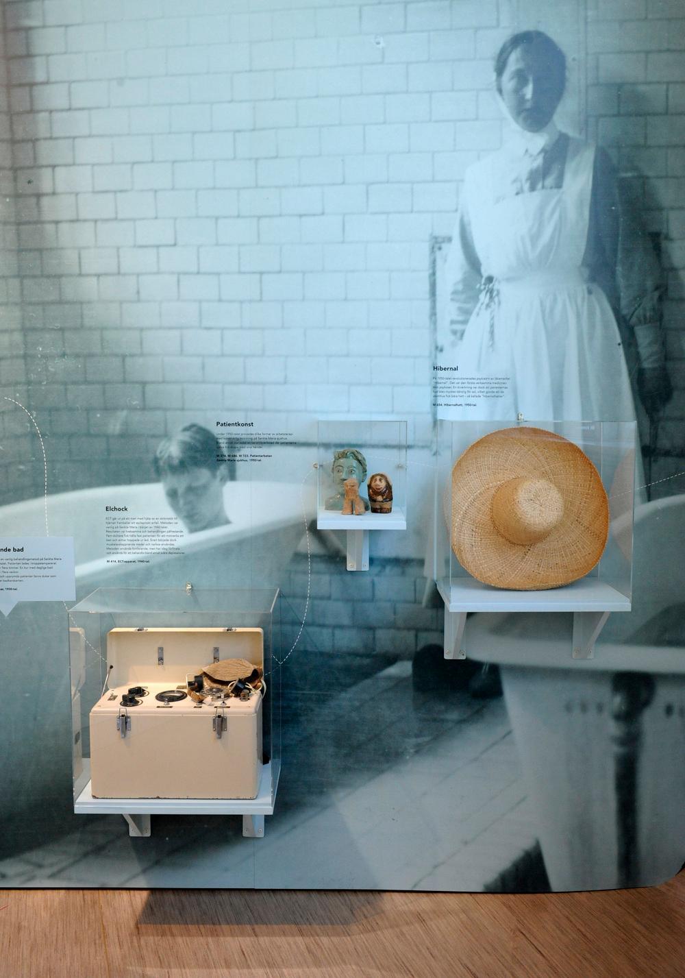 北京博物馆展览馆展厅在展览布置设计上的特点6