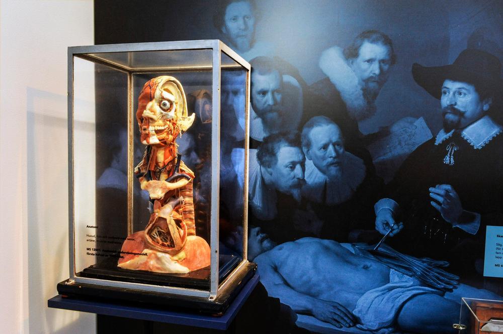 北京博物馆展览馆展厅在展览布置设计上的特点3