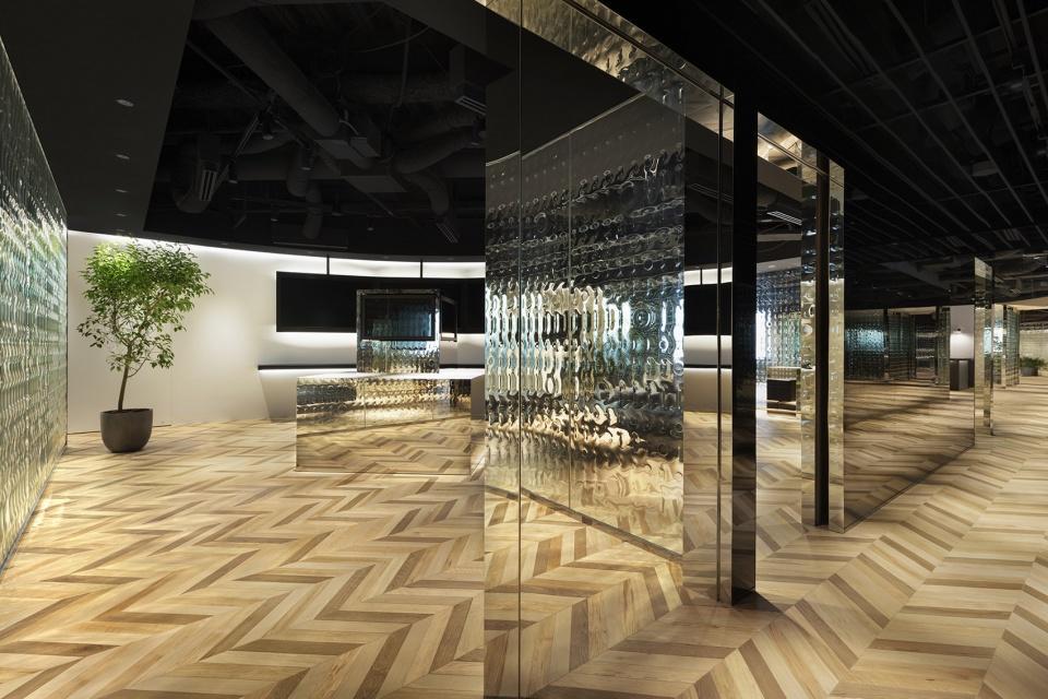 城市规划展厅空间设计图1