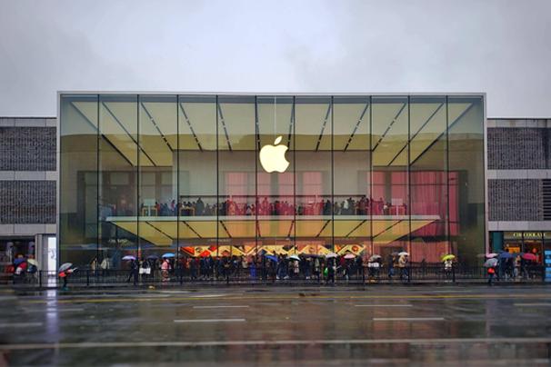 苹果产品专卖店展厅设计理念