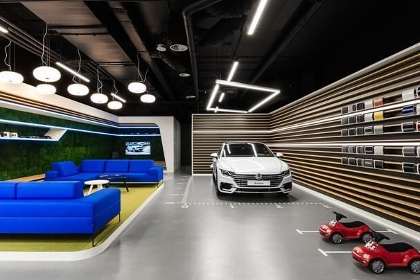 大众汽车新概念展厅设计理念
