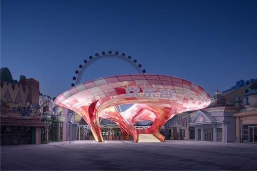 超越几何:全球最大改性塑料3D打印建造体欣赏