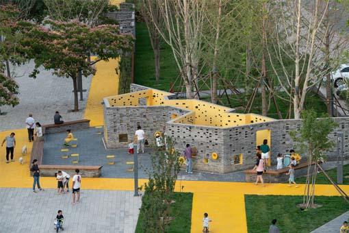 北京宋庄镇小堡村微景观设计:Crossboundaries