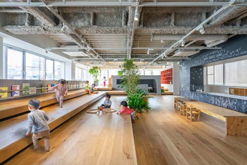 Kids Smile Labo托儿所:日比野設計+幼児の城