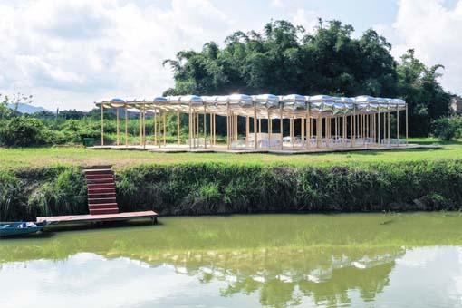 围墩茶寮:空气联盟建筑事务所